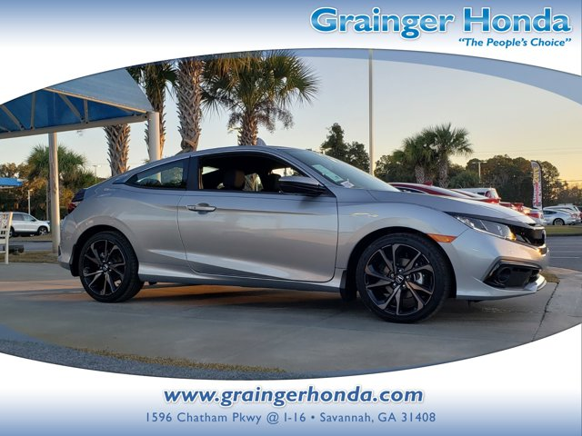New 2020 Honda Civic Coupe in Savannah, GA