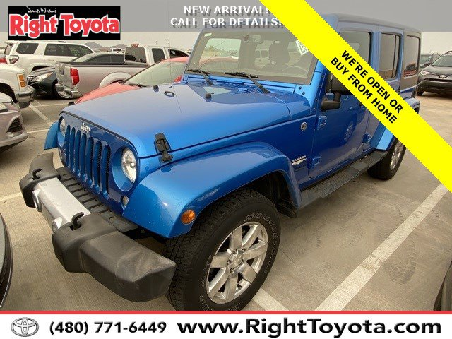 2015 Jeep Wrangler Unlimited Sahara 4WD 4dr Sahara Regular Unleaded V-6 3.6 L/220 [1]