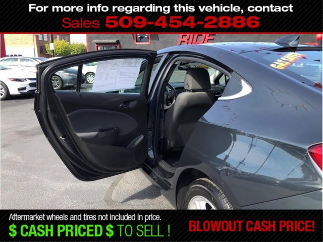 Used 2018 Chevrolet Cruze 4dr Sdn 1.4L LT w-1SD