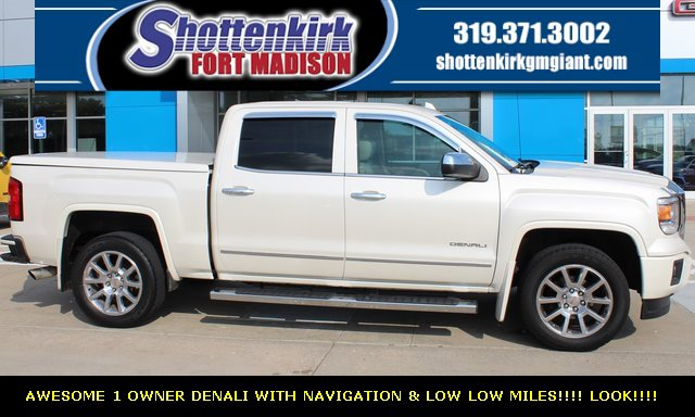 Used 2015 GMC Sierra 1500 in Fort Madison, IA