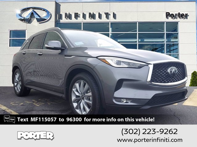 2021 INFINITI QX50 LUXE LUXE AWD Intercooled Turbo Premium Unleaded I-4 2.0 L/121 [0]