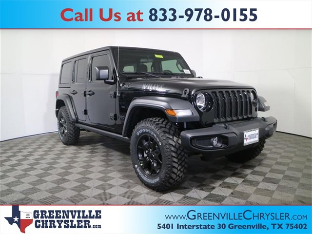 New 2020 Jeep Wrangler Unlimited in Greenville, TX