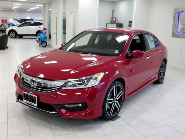 New 2017 Honda Accord Sedan Sport SE CVT