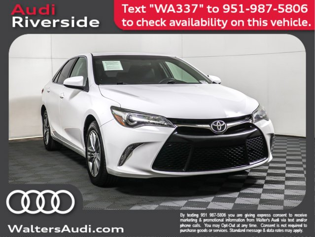 2015 Toyota Camry  Regular Unleaded I-4 2.5 L/152 [7]
