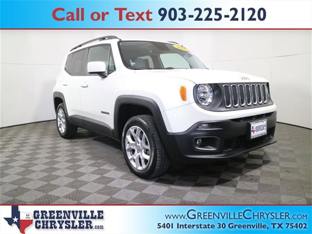Used 2016 Jeep Renegade in Greenville, TX