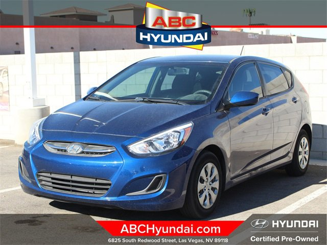 2016 Hyundai Accent SE 5dr HB Auto SE Regular Unleaded I-4 1.6 L/97 [6]