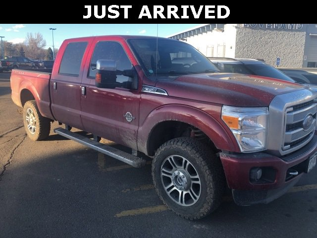 Used 2014 Ford Super Duty F-350 SRW in Fort Collins, CO