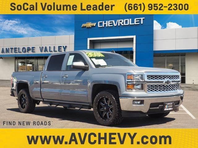 """2015 Chevrolet Silverado 1500 LT 2WD Crew Cab 153.0"""" LT w/1LT Gas V8 5.3L/325 [1]"""
