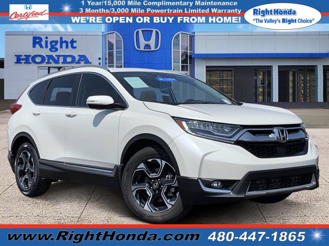 2018 Honda CR-V Touring Touring 2WD Intercooled Turbo Regular Unleaded I-4 1.5 L/91 [18]