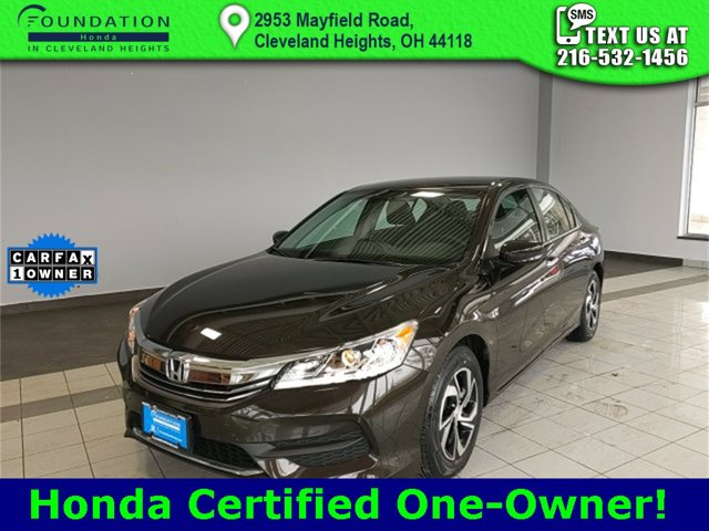 Used 2017 Honda Accord Sedan in Cleveland Heights, OH