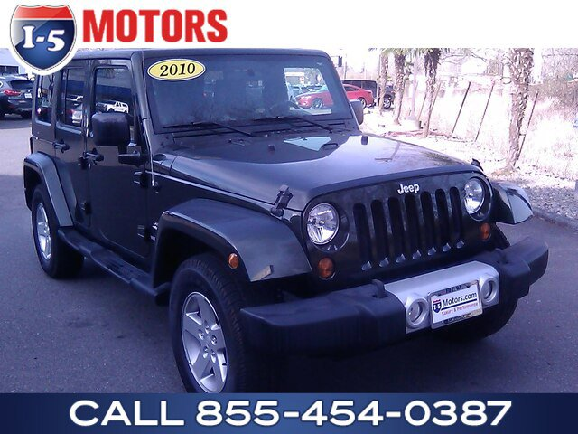 Used 2010 Jeep Wrangler Unlimited in Fife, WA