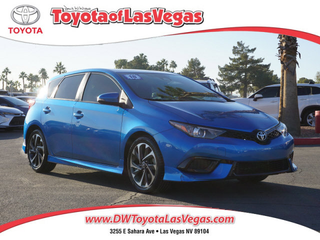 2018 Toyota Corolla iM Base CVT Regular Unleaded I-4 1.8 L/110 [8]