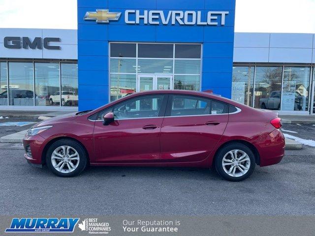 2019 Chevrolet Cruze LT 4dr Sdn LT Turbocharged Gas I4 1.4L/85 [4]