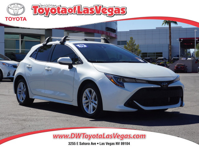 2019 Toyota Corolla Hatchback SE SE CVT Regular Unleaded I-4 2.0 L/121 [0]