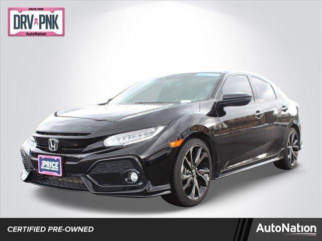 Used 2017 Honda Civic Hatchback in Olympia, WA