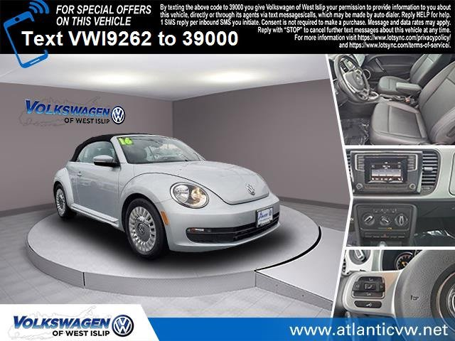 2016 Volkswagen Beetle Convertible 18T S Turbocharged Front Wheel Drive Power Steering ABS 4-W