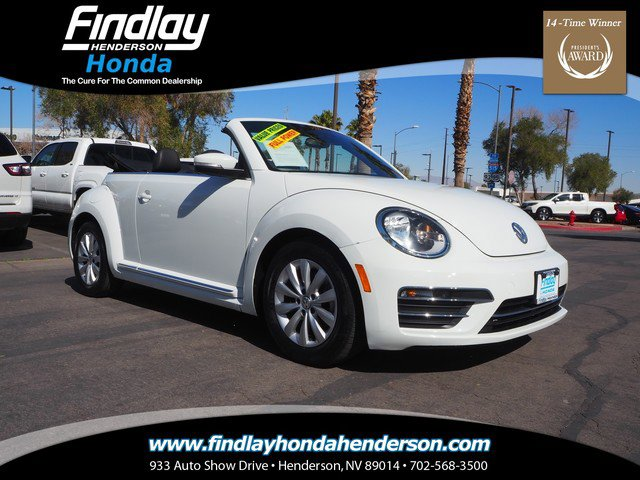 Used 2018 Volkswagen Beetle Convertible in Las Vegas, NV