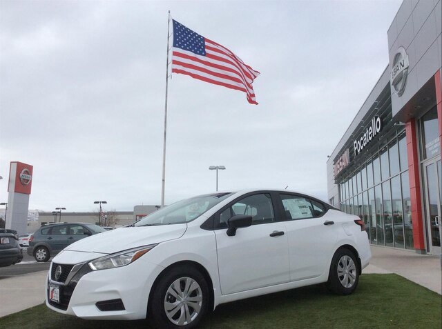 New 2020 Nissan VersaSedan in Pocatello, ID