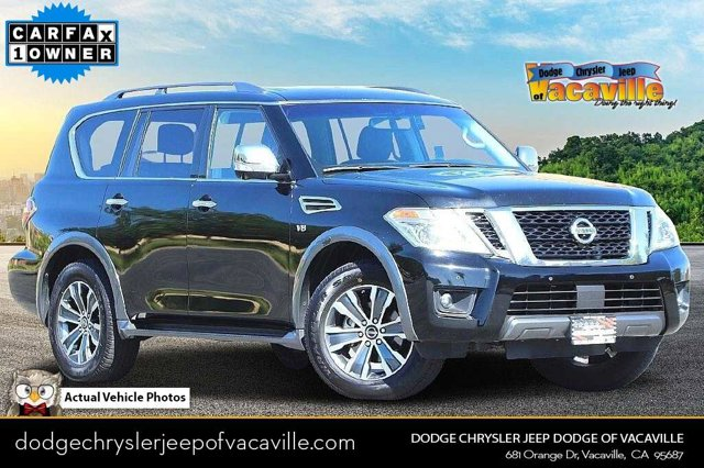 2019 Nissan Armada SL 4x2 SL Regular Unleaded V-8 5.6 L/339 [5]