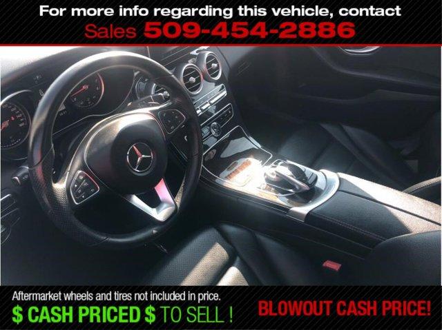 Used 2015 Mercedes-Benz C-Class C 300 4MATIC Sedan 4D