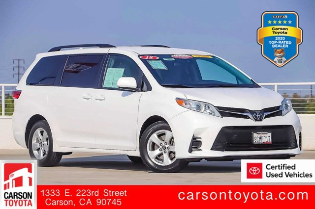 2018 Toyota Sienna LE LE FWD 8-Passenger Regular Unleaded V-6 3.5 L/211 [5]