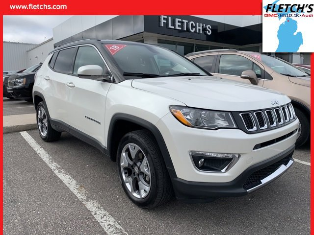 Used 2018 Jeep Compass in Petoskey, MI