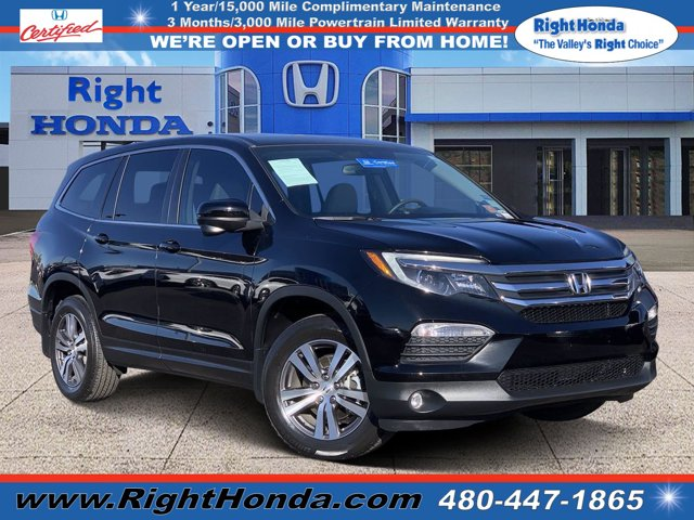 2018 Honda Pilot EX-L EX-L 2WD Regular Unleaded V-6 3.5 L/212 [1]