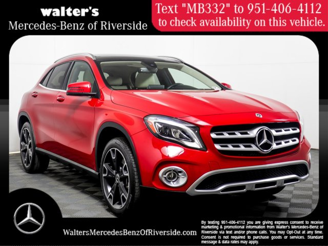 2019 Mercedes-Benz GLA 250 4MATIC GLA 250 4MATIC SUV Intercooled Turbo Gasoline I-4 2.0 L/121 [6]