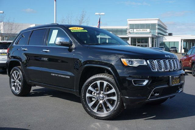 Used 2017 Jeep Grand Cherokee Overland 4x4