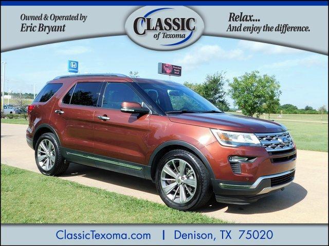 Used 2018 Ford Explorer in Denison, TX