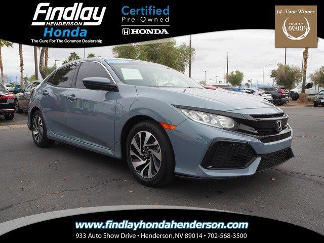 Used 2017 Honda Civic Hatchback in Las Vegas, NV