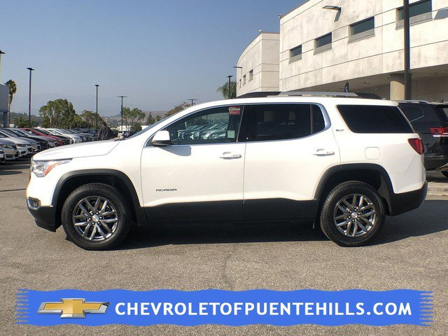 2017 GMC Acadia SLT AXLE  387 RATIO SUMMIT WHITE JET BLACK  SEAT TRIM  PERFORATED LEATHER-APPOIN