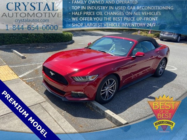 2017 Ford Mustang EcoBoost Premium photo