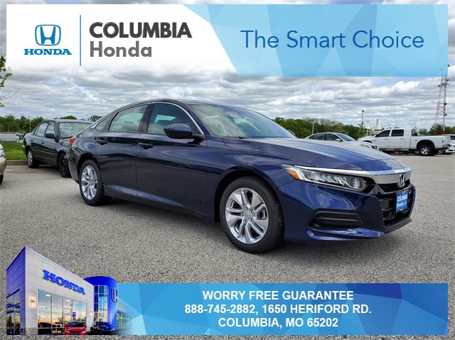 New 2019 Honda Accord Sedan in Columbia, MO