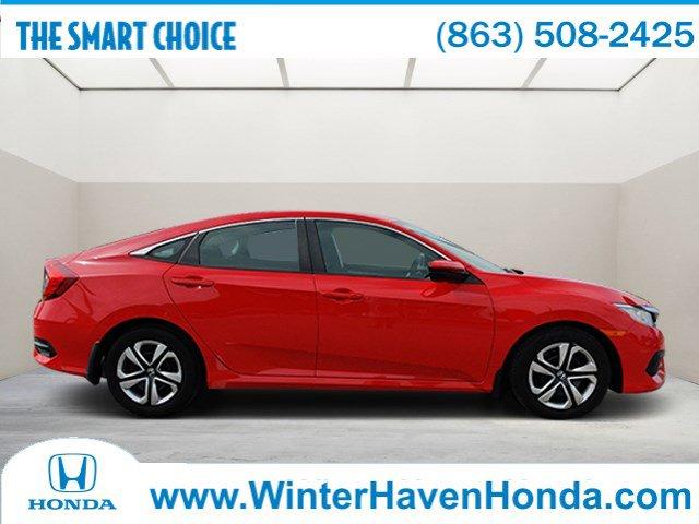 Used 2017 Honda Civic Sedan in Winter Haven, FL