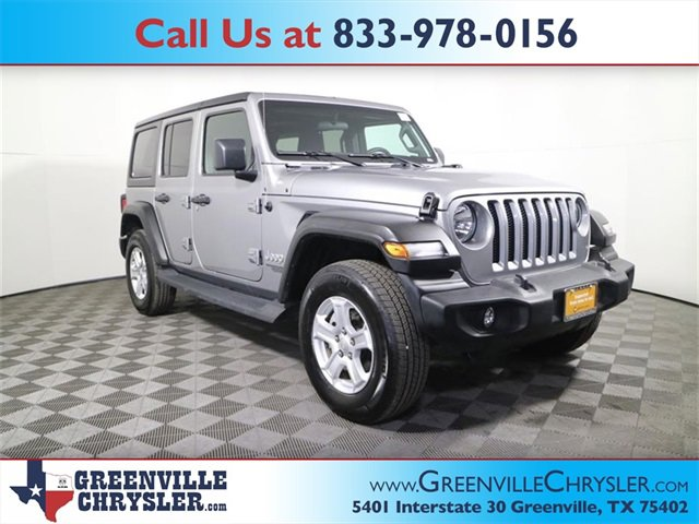 Used 2019 Jeep Wrangler Unlimited in Greenville, TX