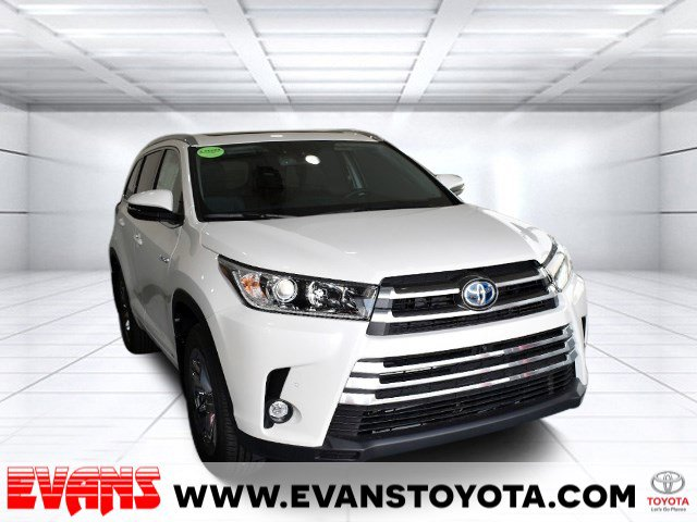 2019 Toyota Highlander Hybrid Limited Platinum All Wheel Drive Power Steering ABS 4-Wheel Disc B