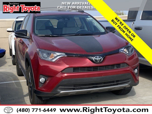 2018 Toyota RAV4  Regular Unleaded I-4 2.5 L/152 [19]