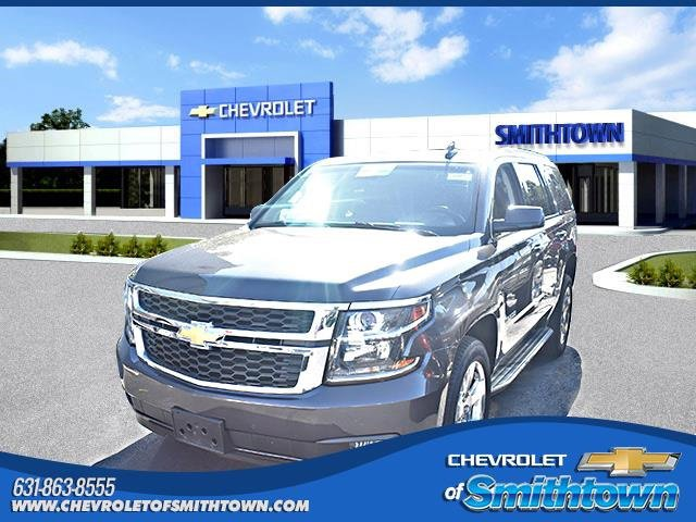 2016 Chevrolet Tahoe LT LICENSE PLATE FRONT MOUNTING PACKAGE TIRES  P27555R20 ALL-SEASON  BLACKWA