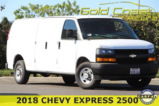 Used 2018 Chevrolet Express Cargo Van in Ventura, CA