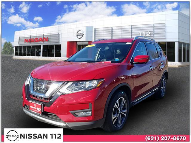 2017 Nissan Rogue SL 2017.5 AWD SL Regular Unleaded I-4 2.5 L/152 [7]