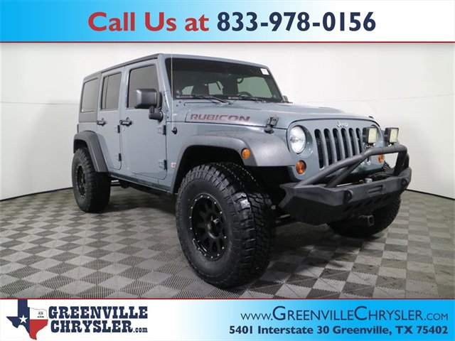 Used 2013 Jeep Wrangler Unlimited in Greenville, TX