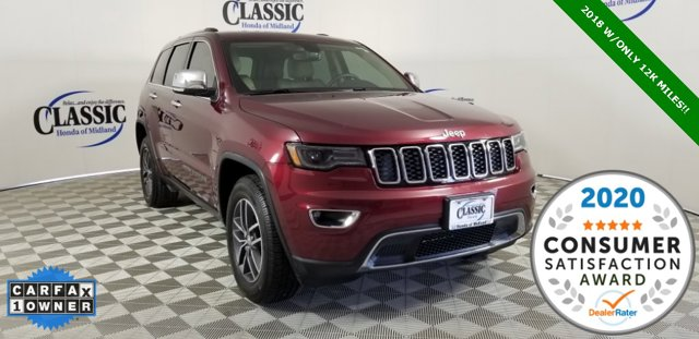 Used 2018 Jeep Grand Cherokee in Midland, TX