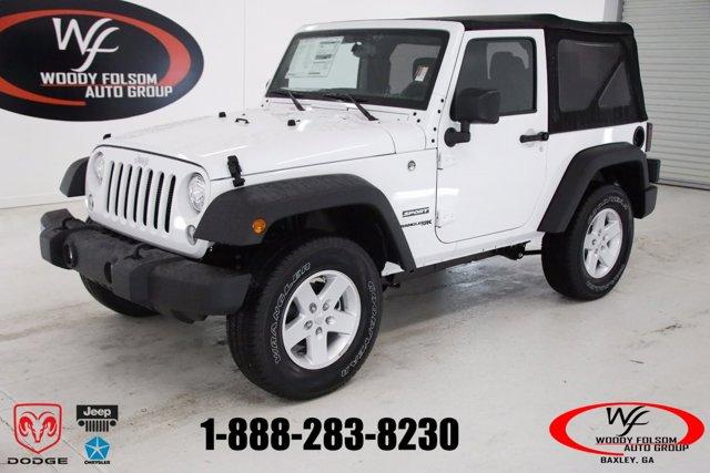 New 2018 Jeep Wrangler JK in Baxley, GA