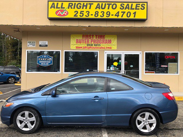 Used 2007 Honda Civic Coupe in Federal Way, WA