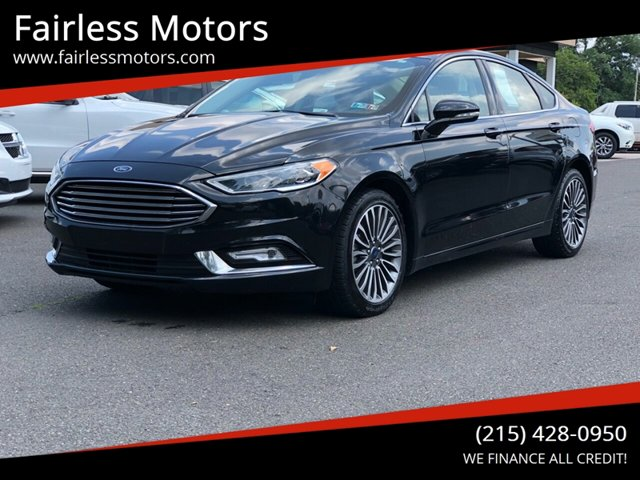 Used 2017 Ford Fusion in Fairless Hills, PA