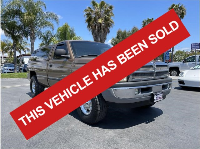 2001 Dodge Ram 2500 LONG BED CAMPER SHELL LEATHER PACK 8.0L CLEAN