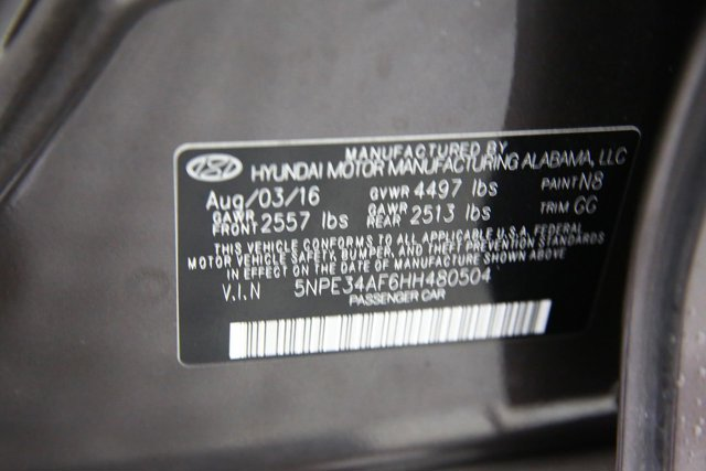 2017 Hyundai Sonata for sale 123989 31