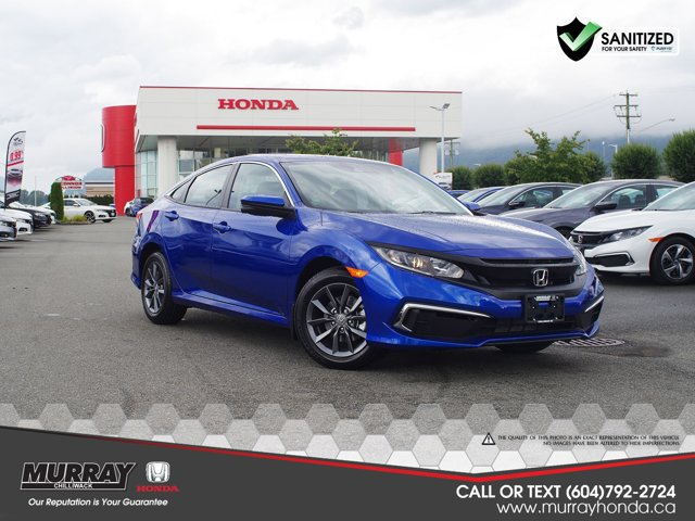 2020 Honda Civic Sedan EX EX CVT *Ltd Avail* Regular Unleaded I-4 2.0 L/122 [6]