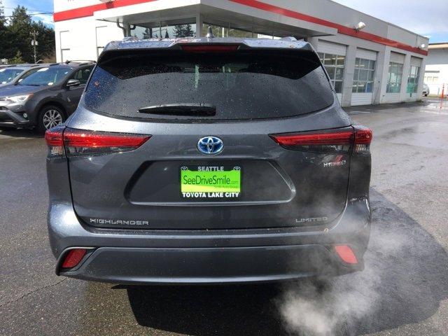 New 2020 Toyota Highlander Hybrid Limited AWD